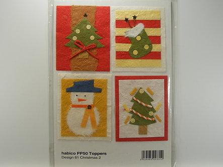 Habico - Handmade Christmas Toppers.