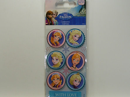 Disney Frozen - Adhesive Toppers - Elsa & Anna
