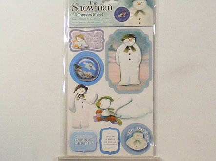 Crafters Companion - The Snowman 3D Topper Set 1.