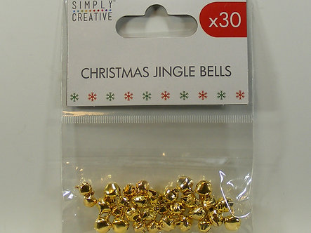 Simply Creative - Christmas Jingle Bells – Gold