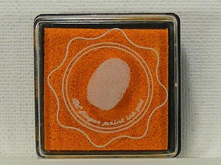 DC - Fingerprint Ink Pad - Orange