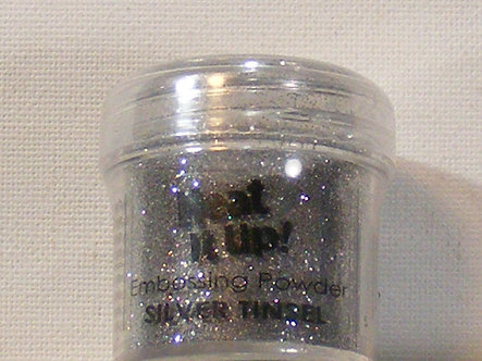 Heat It Up! - Silver Tinsel Embossing Powder