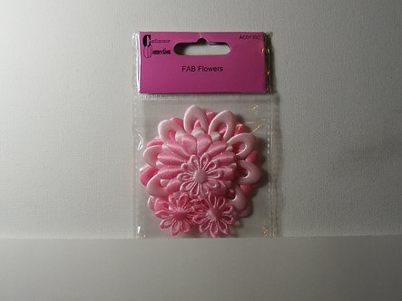 Craftime - Colour Connection - Fab Flowers (Pink).