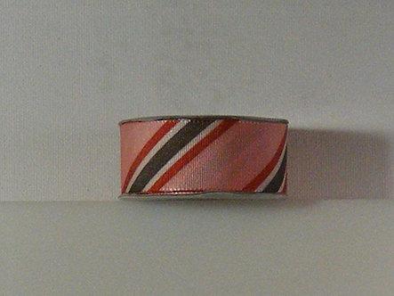 American Crafts - Elements Premium Striped Ribbon.