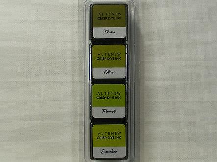 Altenew - Tropical Forest Mini Cube Dye Ink Set