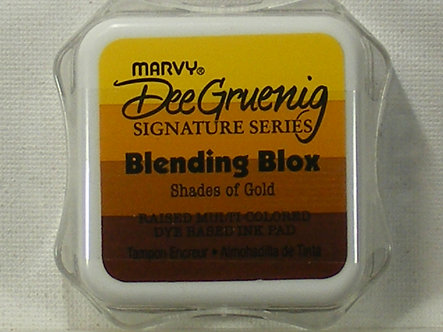 Marvy - Dee Gruenig Blending Blox - Shades Of Gold