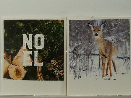 Hobbycraft - Winter Polaroid Card Toppers