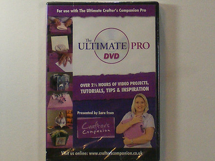 Crafters Companion - Ultimate Pro DVD.