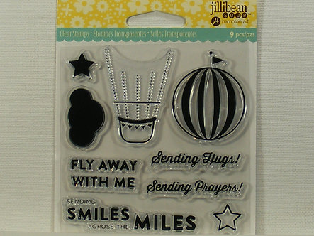 Hampton Art - Jillibean Soup Fly Away Clear Stamps