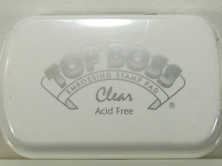Clearsnap Top Boss - Embossing Stamp Pad - Clear