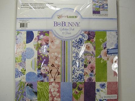 """BoBunny - Secret Garden Collection - 12"""" x 12"""" Collection Pack"""