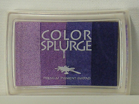 Color Splurge - Pigment Inkpad - Purples.