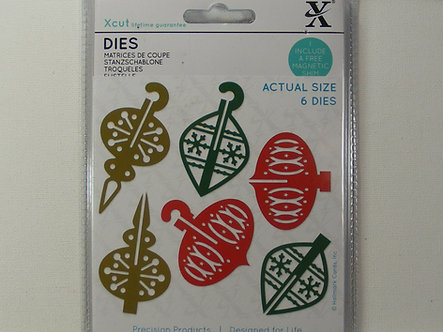 Xcut - 3D Christmas Bauble Dies