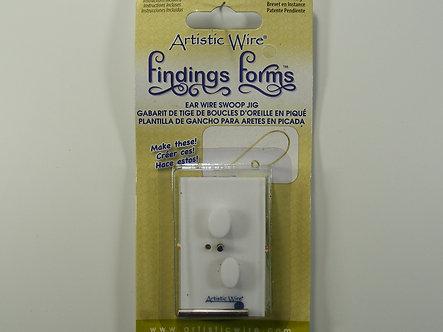Beadalon - Artistic Wire - Ear Wire Swoop Jig