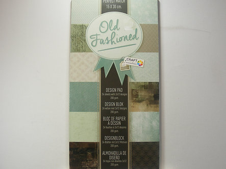 Craft Sensations - Old Fashioned Paper Pad
