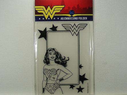Avec - Wonder Woman A6 Embossing Folder