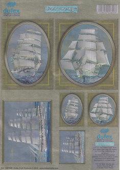 Dufex Decoupage - Tall Ships.