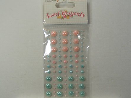Dovecraft - Sweet Moments Adhesive Pearls