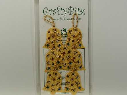 Crafty Bitz - Christmas Bells Toppers