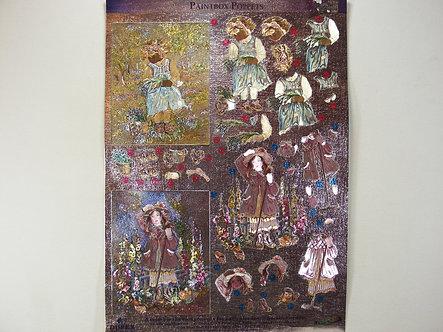 Dufex Decoupage - Paintbox Poppets.
