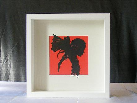 Daenerys Targaryen Paper Cut Frame