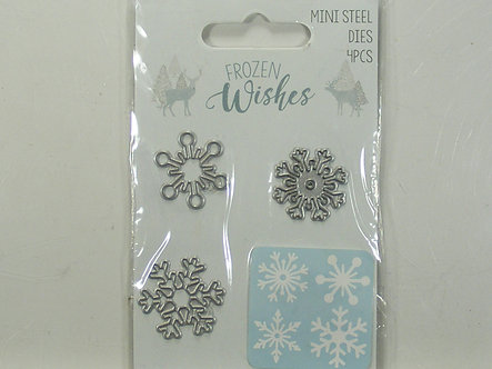 Hobbycraft - Frozen Wishes Snowflake Mini Dies.