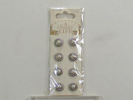 Love To Craft - A Beautiful Life Diamante Charms.