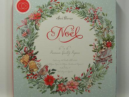"""Craft Consortium - Noel 6"""" x 6"""" Paper Pad"""