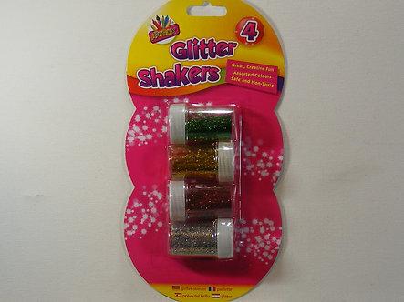 Artbox - Glitter Shaker Pots x 4.