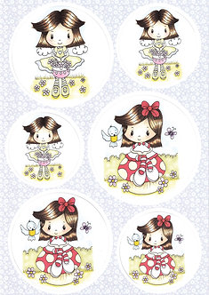 BuzzCraft - Sweet Whispers Toppers & Bkg