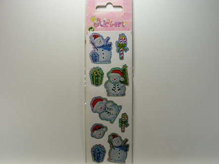 Premier Decorations - Holographic Snowman Stickers