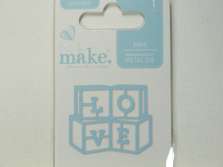 Cut & Make - Mini Baby Dies - Love Blocks