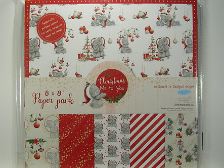 """Avec - Christmas Me To You 8"""" x 8"""" Paper Pack"""