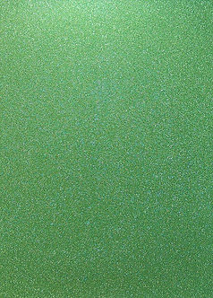 A4 Glitter Card (Non Shed) - Green 180gsm.