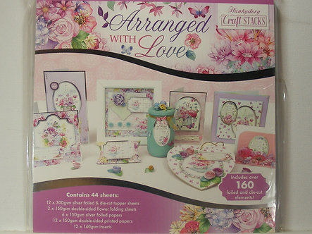 Hunkydory - Arranged With Love Craft Stacks