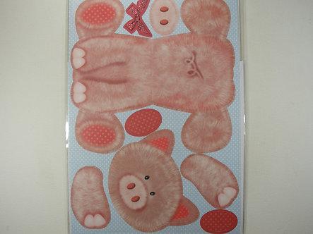 Kanban - Cute Pig Wobbler Card Kit