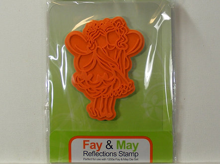 Tonic Studios Fay & May Reflections Rubber Stamp