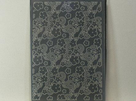 Floral Background Embossing Folder (Used)