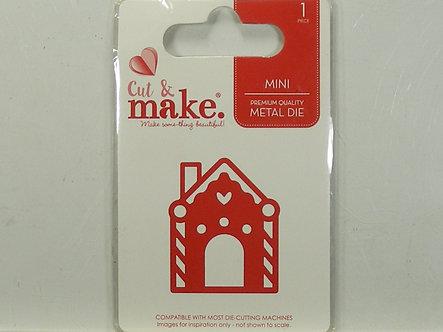 Cut & Make - Gingerbread House Die.