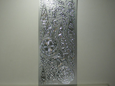CraftCreations - Peel Offs Ornate Christmas (Silver)