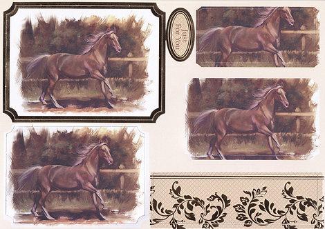 Kanban - Equestrian Joy Topper Sheet