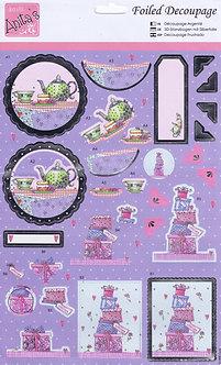 Anita's Foiled Decoupage - Sweets & Treats.