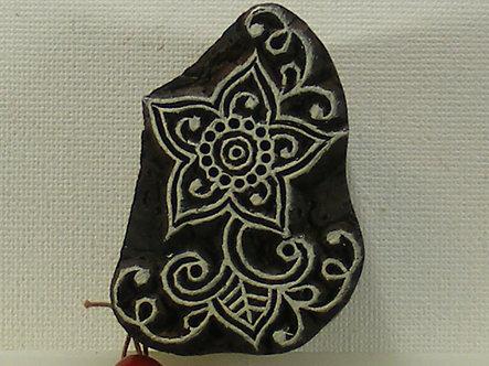 Block Wallah - Exotic Flower Stamp