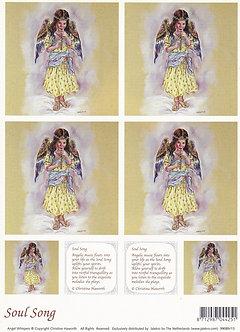 Angel Whispers - Soul Song Topper Sheet