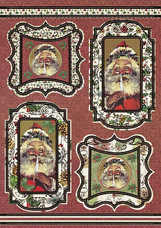 Art & Craft Direct - Santa's List Toppers