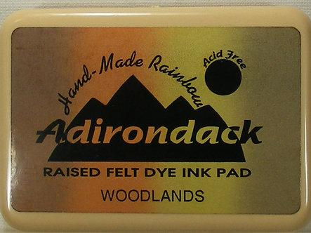 Ranger - Adirondack Raised Felt Dye Ink Pad - Woodlands