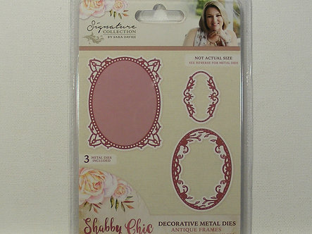 Crafters Companion - Signature Collection - Shabby Chic Die Set