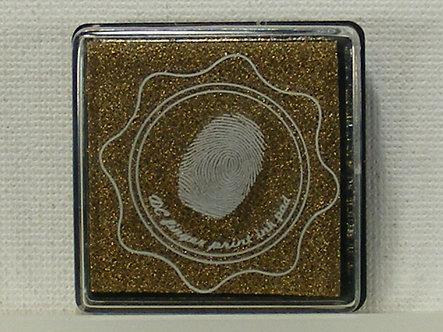 DC - Fingerprint Ink Pad - Gold
