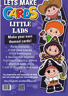 Craftstyle - Lets Make Cards - Little Lads