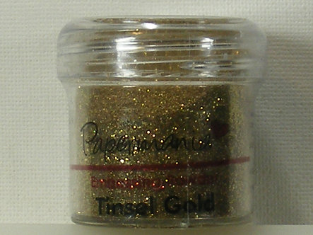 Papermania - Tinsel Gold Embossing Powder.